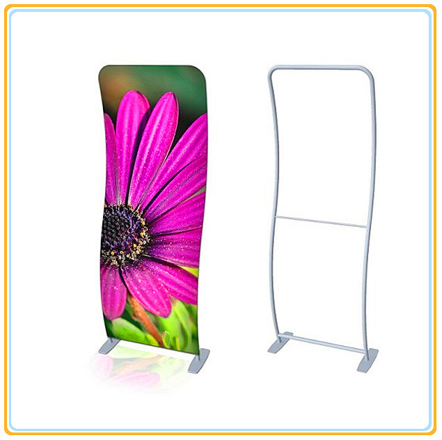 Style Banner Stand Display/S Shaped Tension Fabric Banner Stand