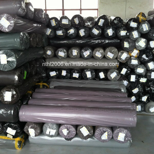 Leather Fabric for Sofa PVC Leather for Seat Stocklot
