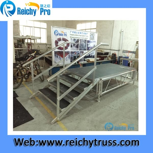 Outdoor Concert Stage Aluminum Protable Assemble Stage