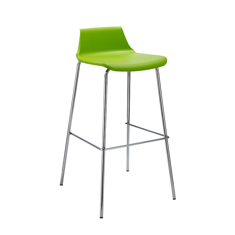 Fshional Home PP Seat High Bar Chair with Legs (FS-PB005V)