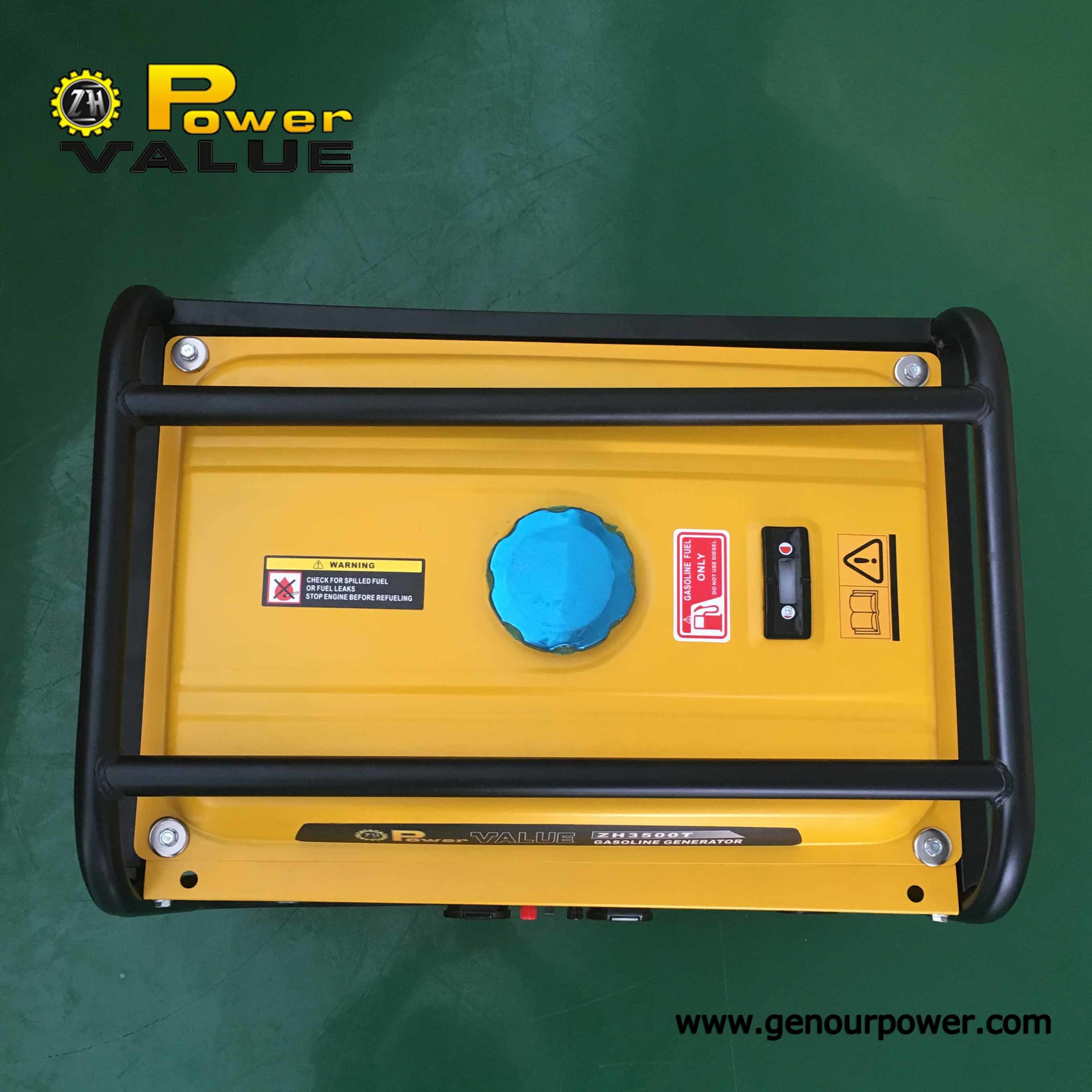 Home Silent Power Portable Gasoline Electric Generator Generator Set