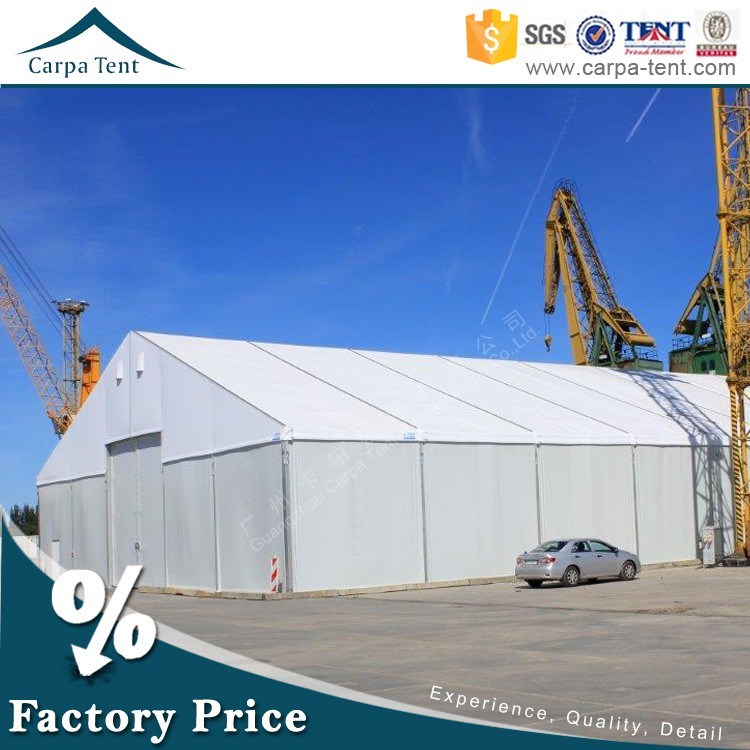 25X40m Durable Industrial Warehouse Marquee Tent with Hard ABS Wall