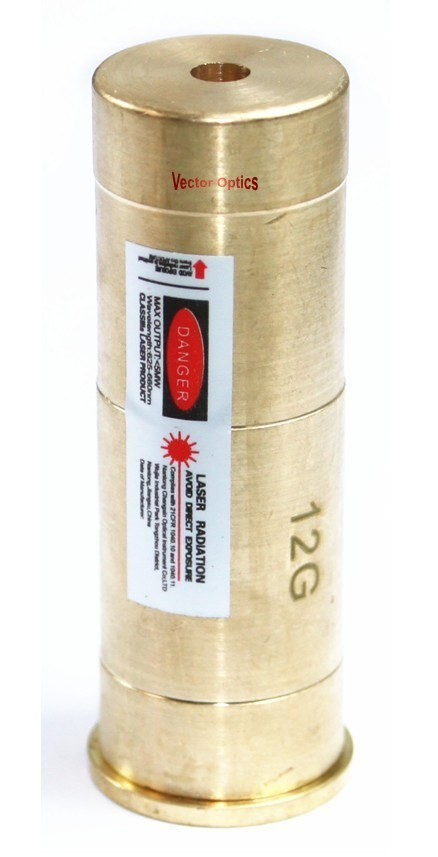 12ga 12 Gauge Cartridge Red Laser Bore Sight