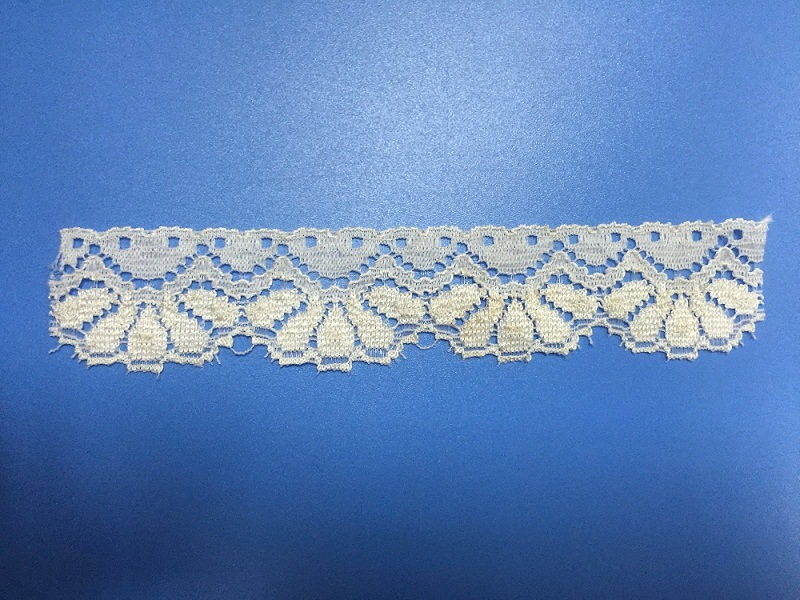 Elastic Lace Made of Nylon & Spandex, Customized Color