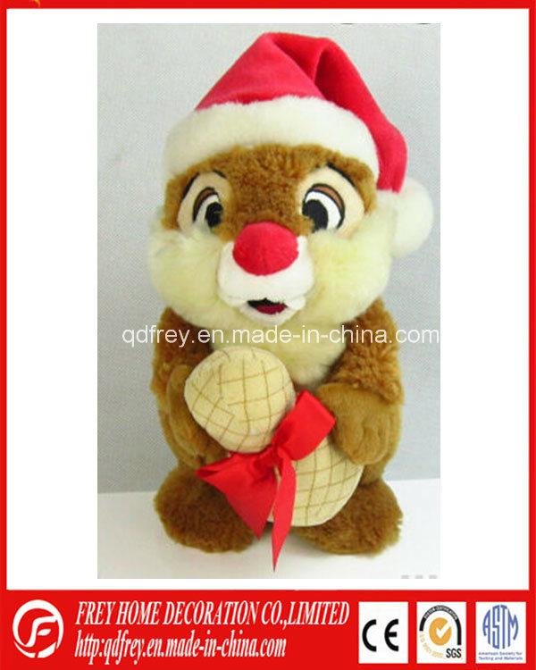 Cute Christmas Plush Toy of Soft Marmot