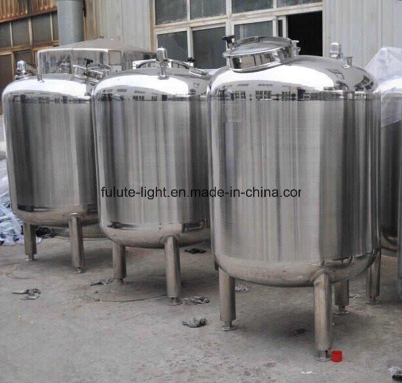 Sanitary Stainless Steel Purified Water Storage Tank