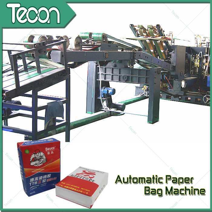 High Speed Paper Bags Bottome Sealing Machine