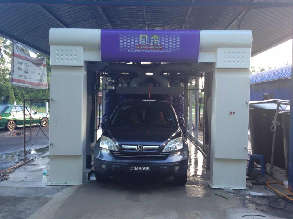 Fully Automatic Tunnel Car Wash Equipment and Tunnel Car Washing
