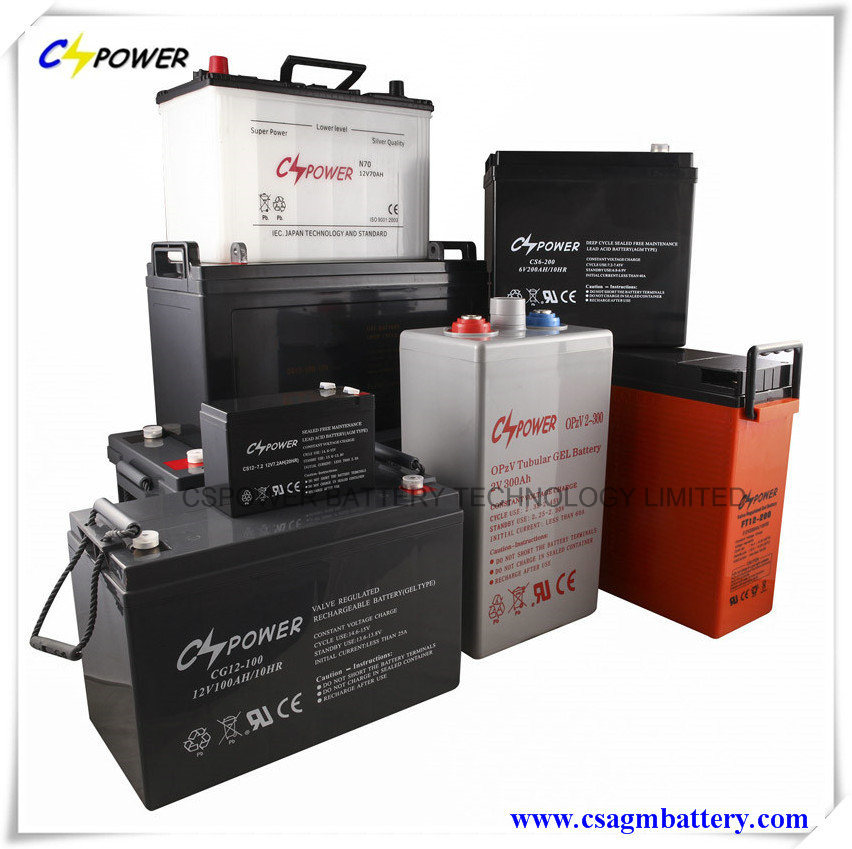 3 Years Warranty Deep Cycle Gel Battery 12V100ah for Solar Storage