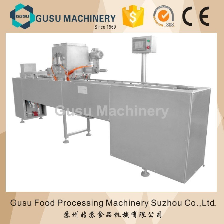 ISO Snack Food Semi Auto 100kg/H Chocolate Moulding Depositor Machine