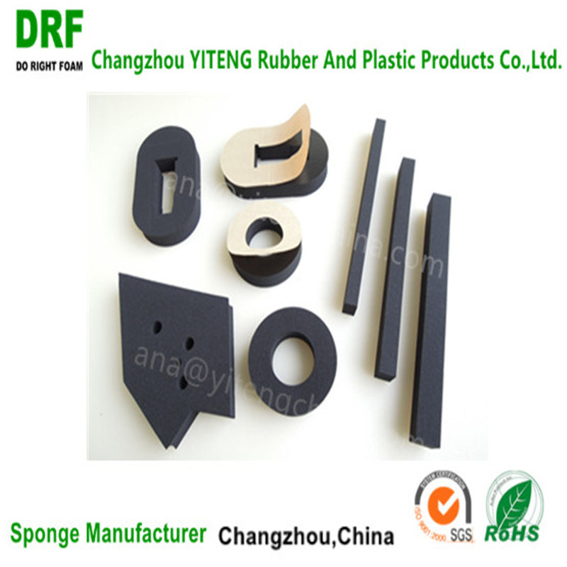 Waterproof Closed Cell High Density Cr Seal Strip Rubber Foam Chloroprene Foam