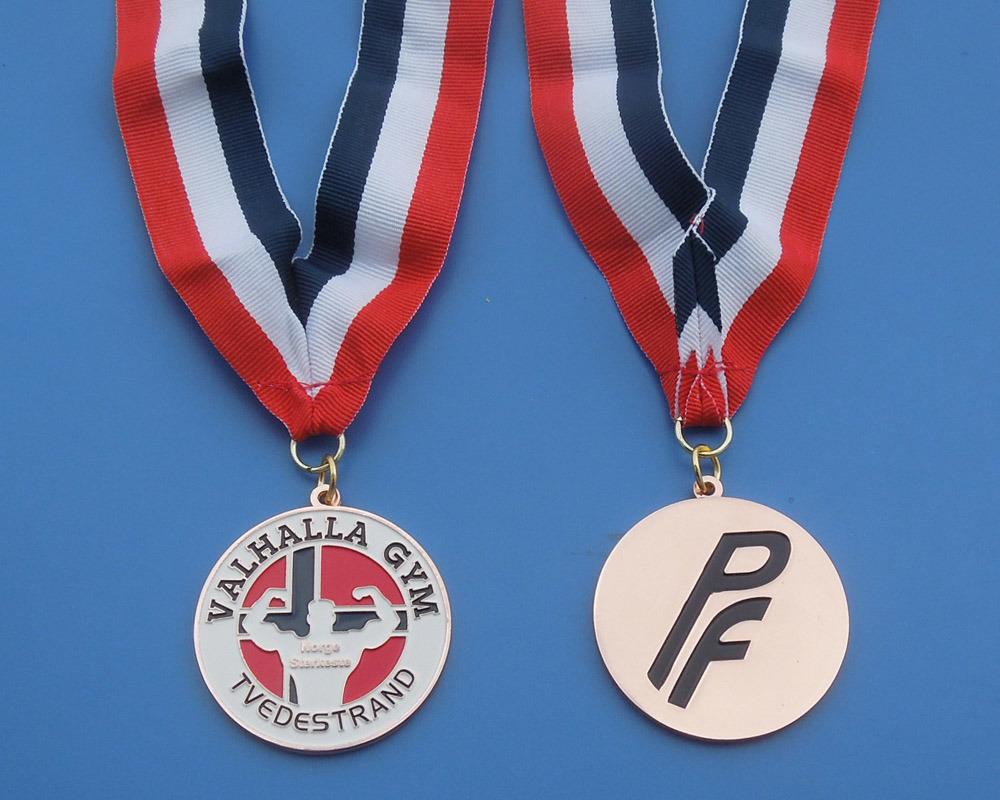 Valhalla Gym Sport Metal Medal