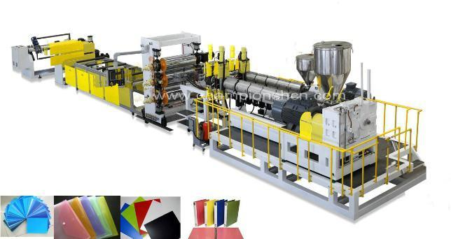 PP Stationery Plastic Sheet Extrusion/Extruder Line/Machine