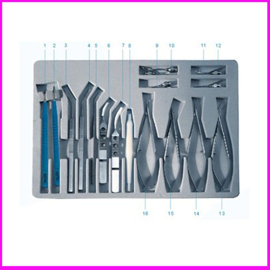 Cataract Surgical Set, China Ophthalmic Instruments