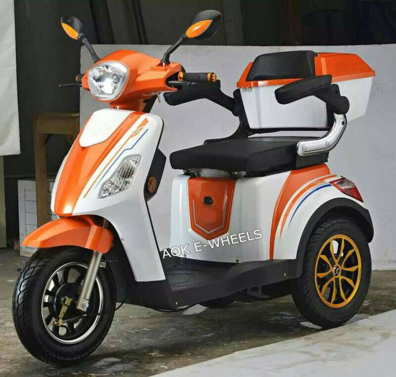 500W 48V/60V Electric Bike for Disabled and Elder People