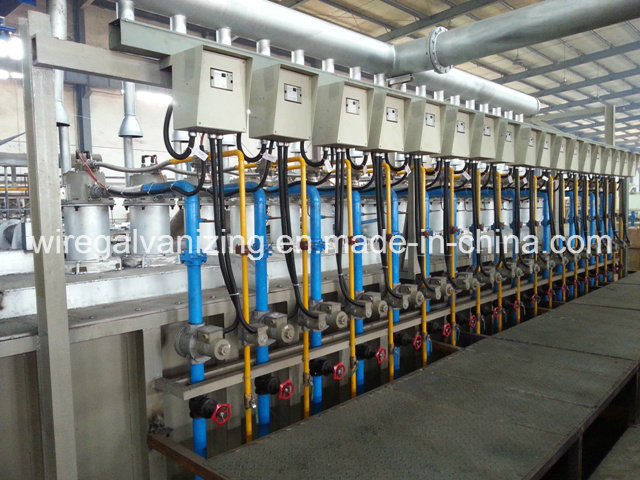 Steel Wire Hot DIP Galvanizing Machine with Ce Certified