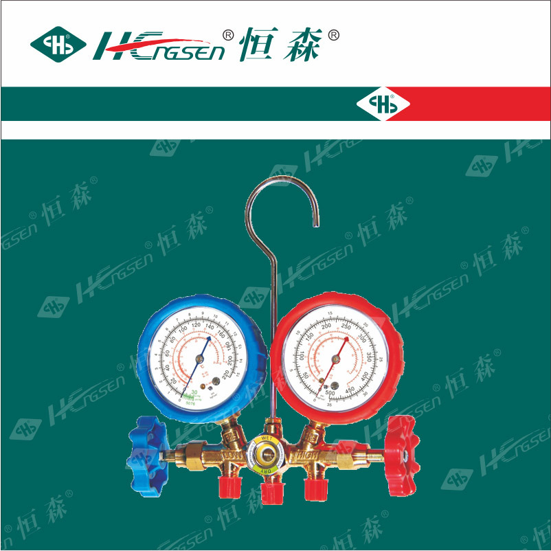 Experienced OEM Manufacturer of Manifold Gauge/ Auto Service Gauge/ Double Gauge Valve/ Charging Hose