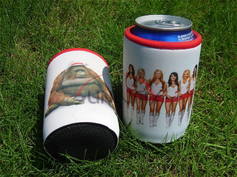Promotional Bottle Holder, Insulated Neoprene Beer Beverage Stubby Can Cooler (BC0075)