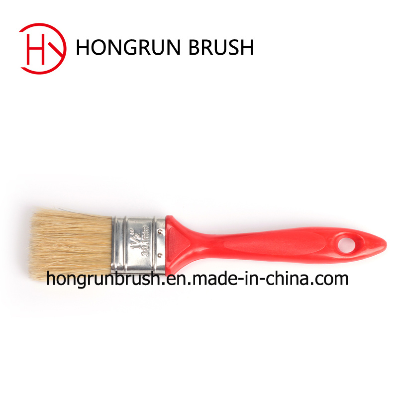 Frosted Surface Plastic Handle Paint Brush Hy0606