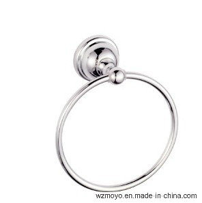Bathroom Accessory Towel Ring in Chrome