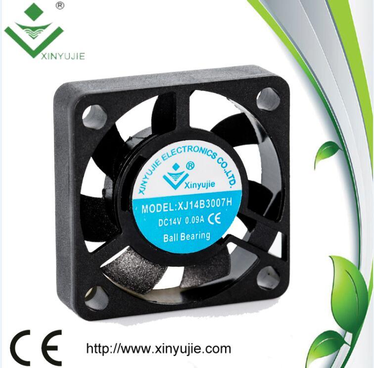 PWM Signal Speed Control Xj3007 30mm Industrial Air Cooler