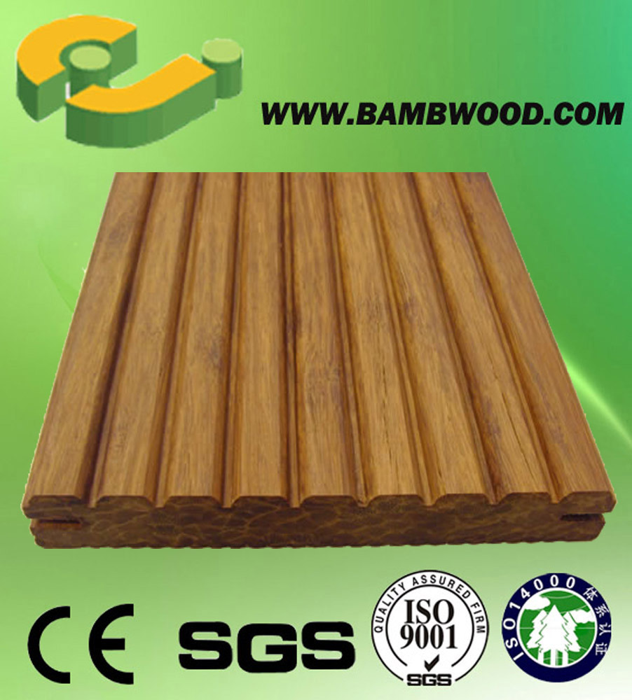 China Cheap Outdoor Bamboo Decking-Ej