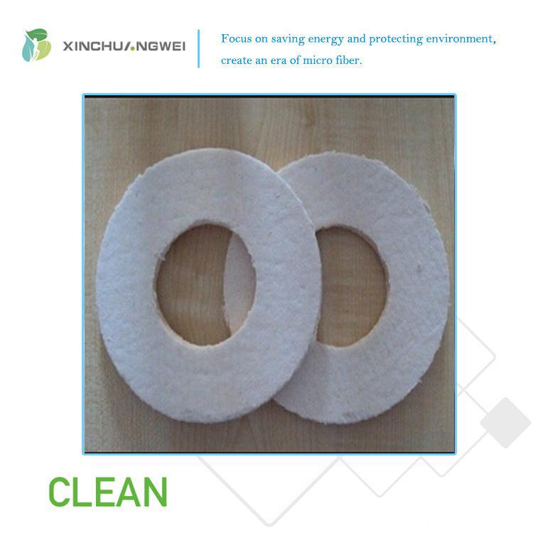 Semi-Rigid Aluminium Silicate Fiber Board Heat Insulation Ceramic Fiber Felt
