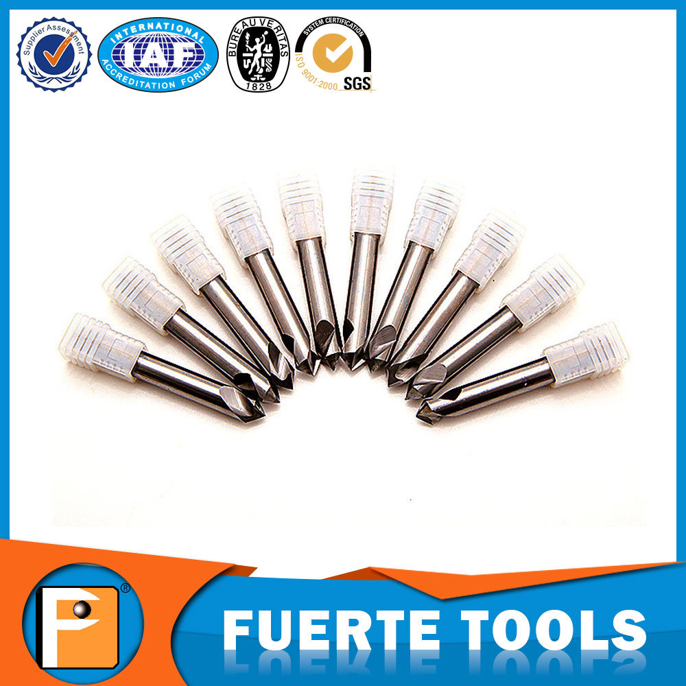 Carbide Spot Drill Bits for Aluminium Processing