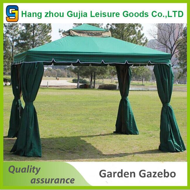 3X3m Aluminum Patio Pavilion Side Curtains Gazebo