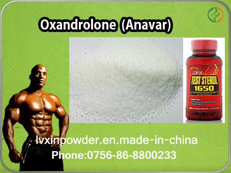 Anavar for Muscle Steroid Hormone CAS 53-39-4