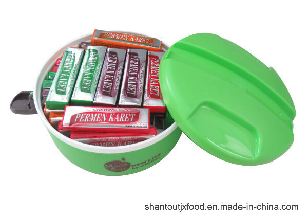 Rounded Lunch Box Chewing Gum