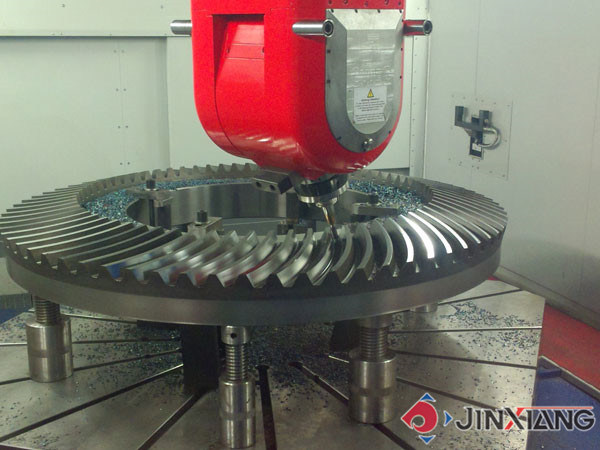 Large High-Precision Hardened Tooth Surface Spiral Bevel Gear