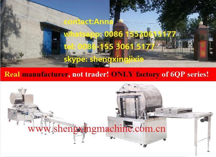 Thin Pancake Machinery/ Flat Pancake Machine (manufacturer)