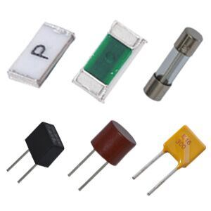 Surface Mount (PPTC, Thermal Cutoff Fuses, Subminiature Fuses, Ceramic Tube Fuses, Glass Tube Fuses) Fuses