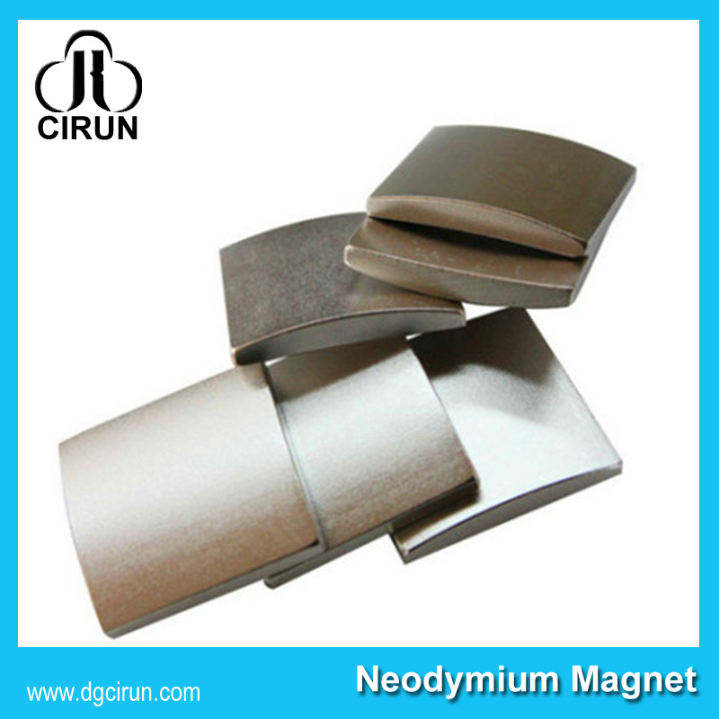 Customize High Quality Sintered NdFeB Permanent Arc Magnets