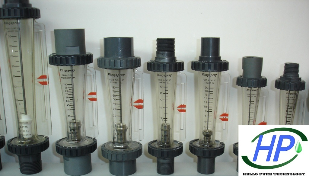Tube Type Flow Meter for Industrial RO Water Equipment