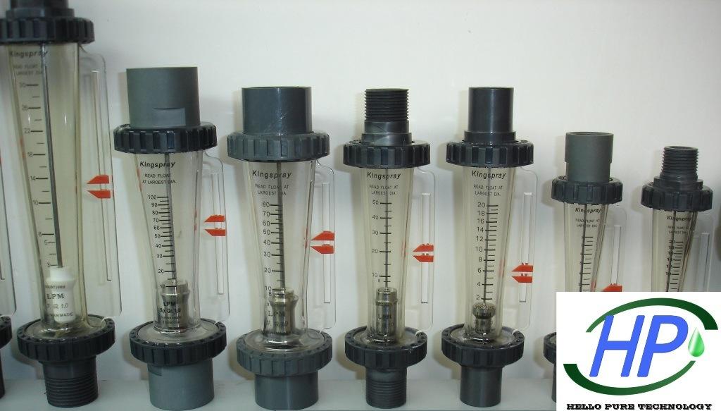 Tube Type Flow Meter for RO Water Equipment