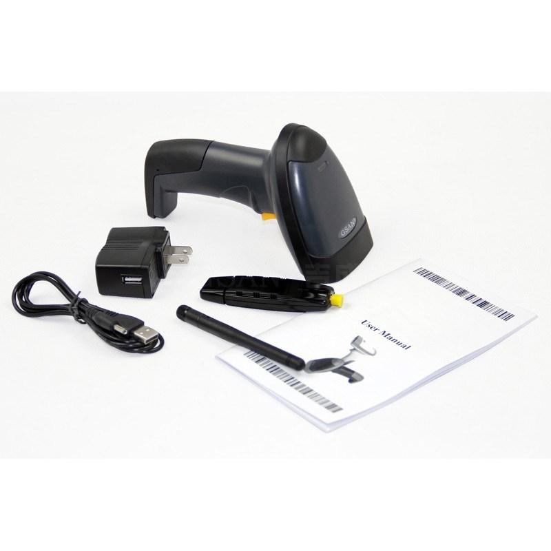 1d Supermarket Wireless Laser Barcode Scanner