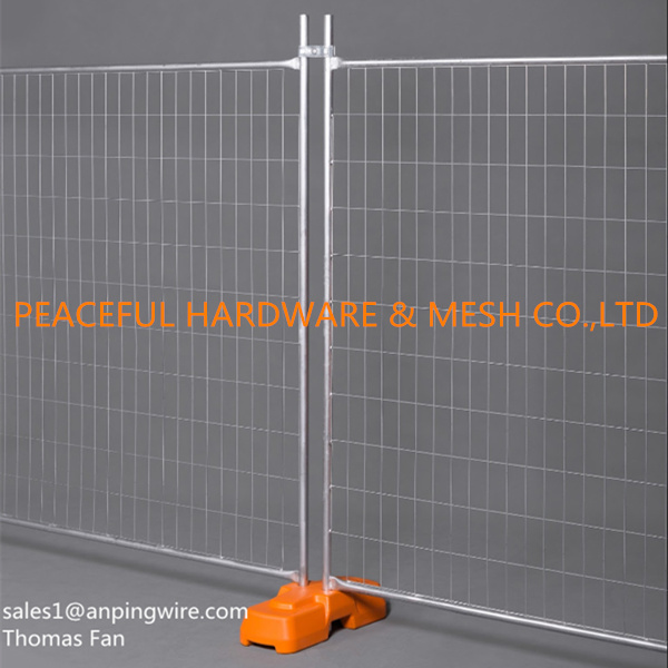 Hot Dipped Galvanized Temporary Fence for Fencing Hire