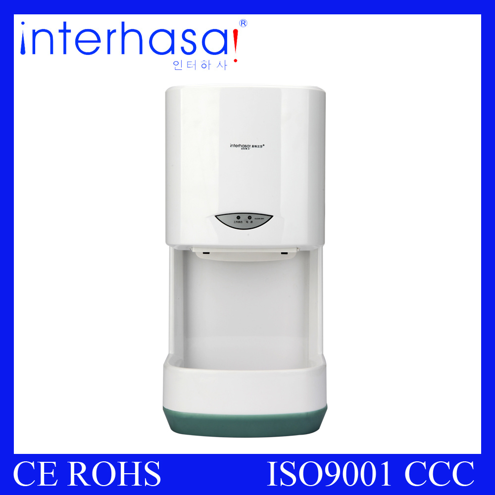 Sensor and Ce RoHS Certification High Speed Automatic Toilet Bathroom Hand Dryer