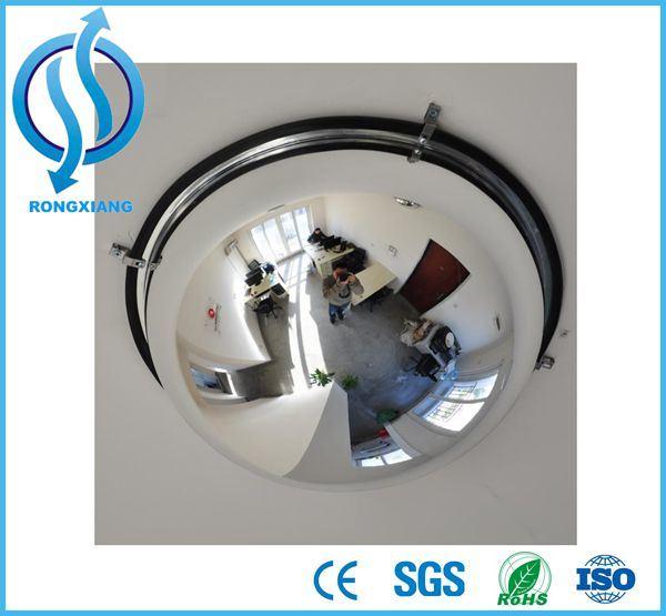 360 Degree Driveway Blind Spot Full Half Dome Convex Mirror