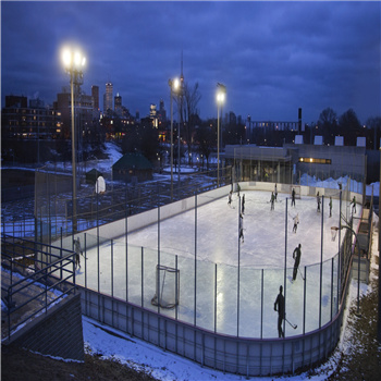 Clear Polycarbonate Solid Sheet for Ice Rink Barrier