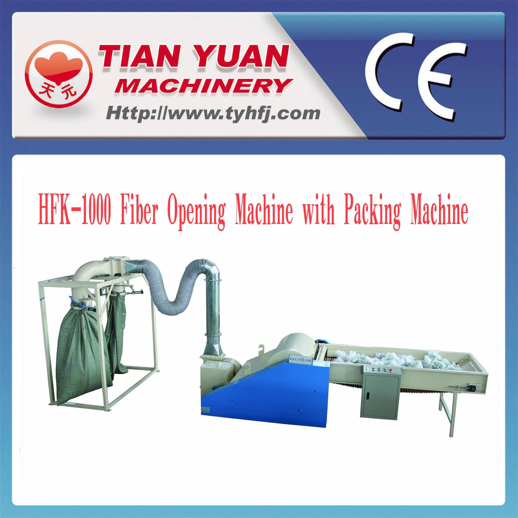 Polyester Staple Fiber Opening Machine