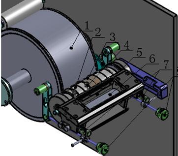 on-Running Registration Flexo Label Printing Machine (HY2001R)