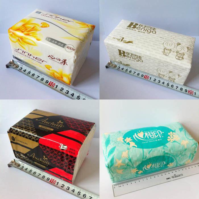 Handkerchief Tissue Making Package Napkin Paper Packing Machine