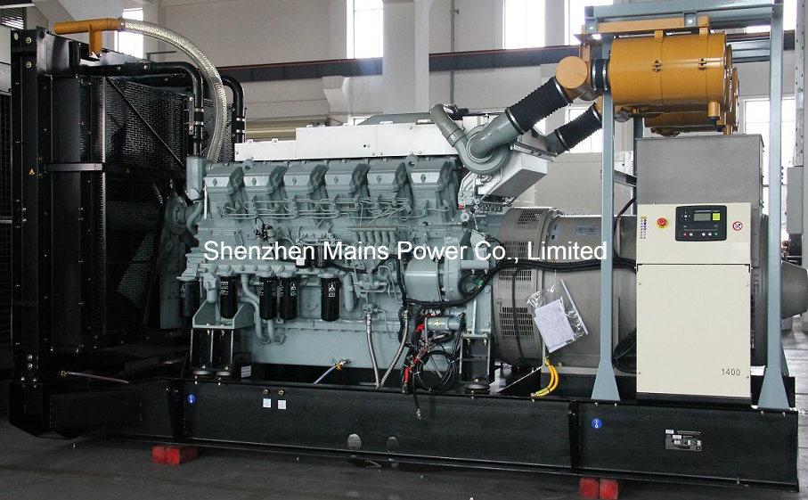 1800kw 2250kVA Mitsubishi Diesel Generator Standby 2000kw 2500kVA