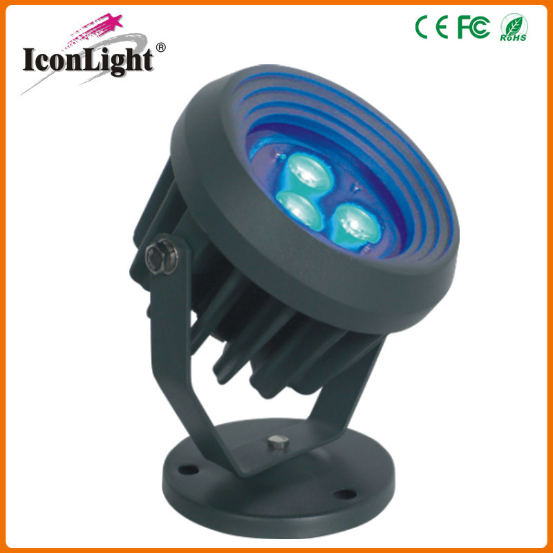 Round IP65 3*3W LED Spot Light for Street Garden