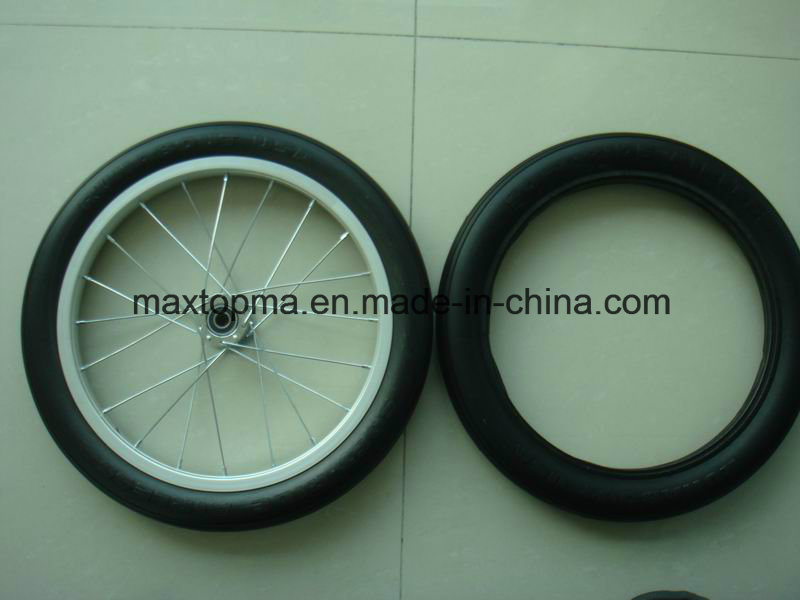 16X1.75 Baby Stoller PU Foam Wheel