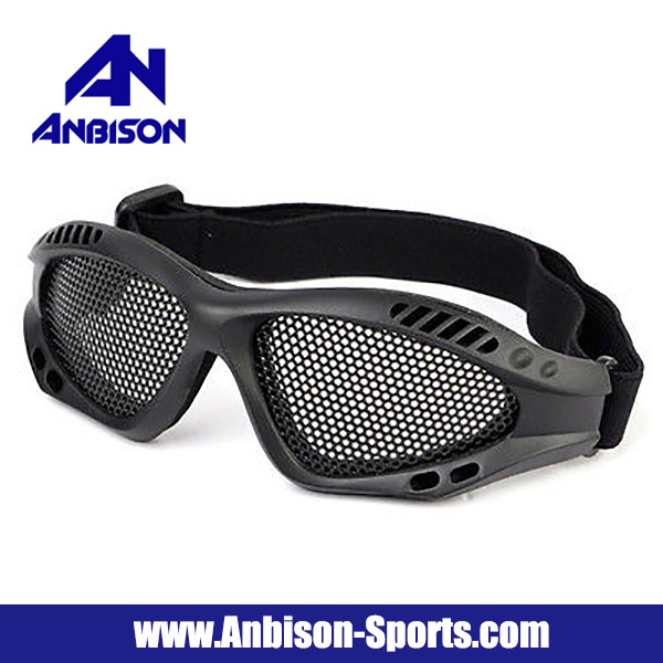 Airsoft Metal Mesh Protection Goggle