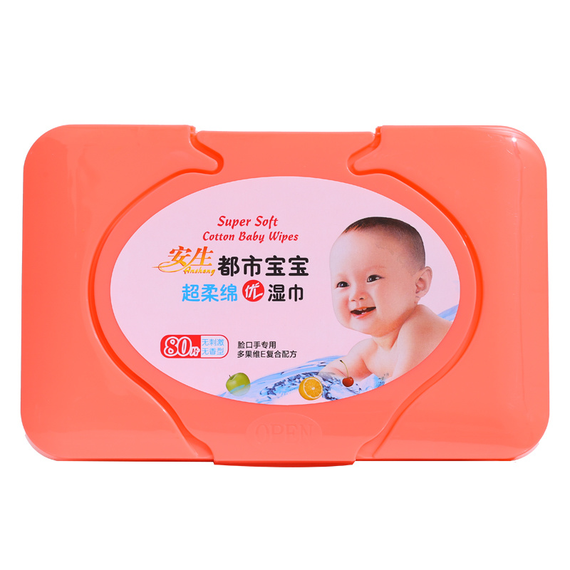 Box Packing Baby Wipes 80sheets Soft Baby Wipes